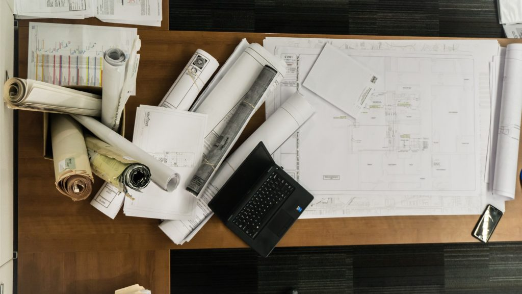 Blueprints are a design tool to visualize complex services and product experiences