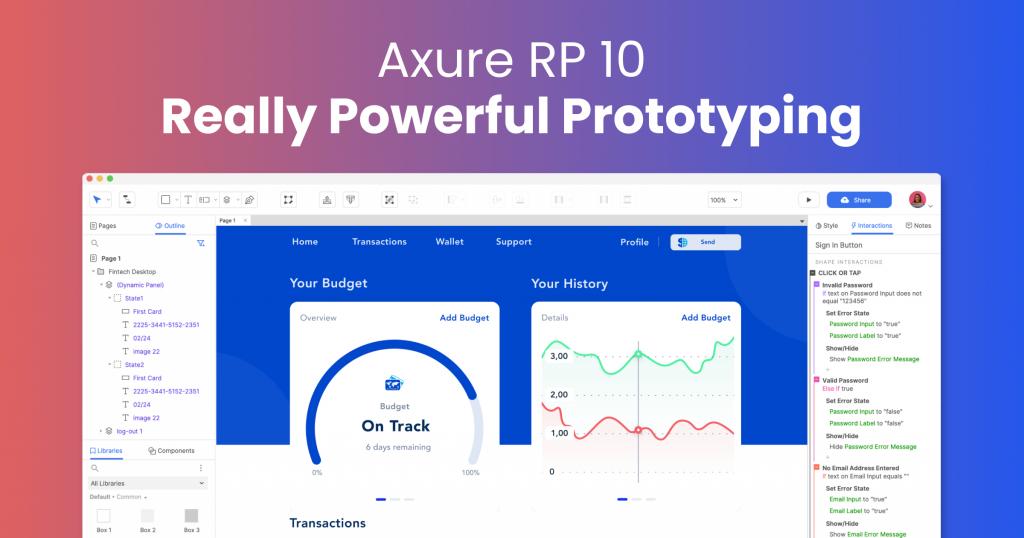 axure interface ui desing tool